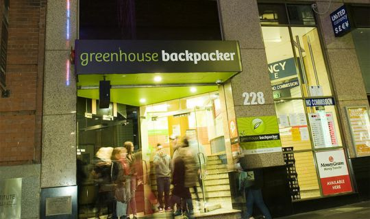 Greenhouse Backpacker Melbourne