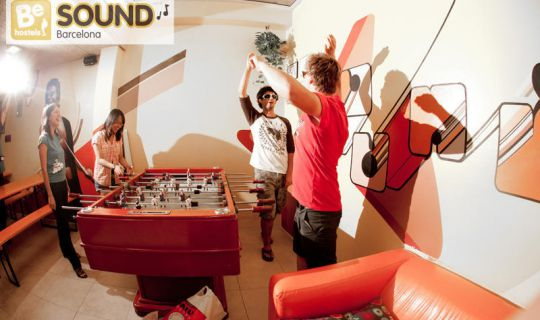 Be Sound Hostel Barcelona