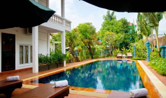 The Frangipani Green Garden Hotel & Spa Siem Reap